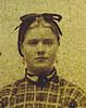6.Sarah Baldwin Barrett, from an old tintype photograph.