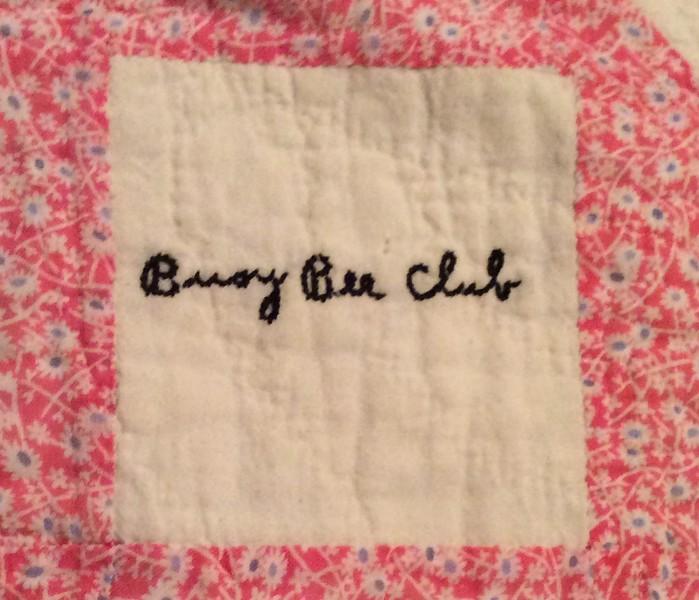1.  NOTE -Some photos in this gallery have a large amount of text in the captions. I imported this text from a short document I wrote in January 2016 about my grandmother's quilting club in the 1930s.<br /> <br />                           THE BUSY BEE QUILTING CLUB<br /> My maternal grandmother, Nellie Wells Barrett (1883-1973), was a part of a group of ladies who, in the middle years of the 1930s, gathered on a regular basis to meet and quilt. At that time my grandparents were living about four miles northeast of West Plains, on what is now County Road 2570. They had moved from their home on St Louis Street about 1933 to rent the farm, which over the years has been referred to by our family as 'the old Davis place'. They lived there until about 1940, when they bought a farm in the Dripping Springs community. <br /> My mom and her seven siblings had been born between the years 1905 and 1920, and thus it was that by 1935 all but the baby of the family, young John, had married and moved away from home. Perhaps it was partly for companionship that Grandma Nell sought the company of other women who lived in the area to gather for gossip, a cup of tea, and a little socializing, while keeping their hands busy with the time-honored tradition of quilting. No doubt there were many chores that kept her busy from dawn to dusk, but she knew she needed to be around old friends occasionally to keep her mind from fretting too much about the cares of the day.<br /> The purpose of this paper is to preserve a bit of Howell County history that dates to eighty years ago.  Towards an added benefit, I was hopeful that perhaps the descendants of those quilting club members might be able to re-connect with one another, and re-new an old friendship. However, I've been thus far disappointed in that respect. With names of children and grandchildren I found in several obituaries, and the resources of Facebook on the internet, I've been unable to find anyone out there of this current generatio