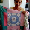 5. My cousin Becky Barrett Duncan-Thomas got the quilt from her mom in 2013. She recently sent it to me to hold on to and do a little research on the names.