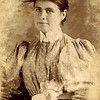 2. Sarah Eliza Barrett, 'Liza', was born in Hancock County, Tennessee on December 3, 1880, about five years before the family moved to Missouri. She was named after her mother, Sarah Elizabeth Baldwin Barrett. Here she is as a teen in the 1890s.