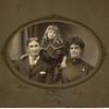 12. Daniel, Fontella and Liza Lortz, probably taken about 1908.