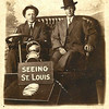 16. Amos and Bud in St Louis for the World's Fair in 1904.