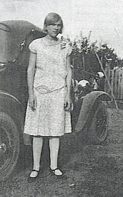 1. Maxine about 1930, about a year before her marriage to Herman Chestnut.
