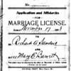 3. When she was twenty, she married Richard Andrew 'Andy' Sanders, in West Plains. (Nov 17, 1896)