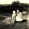 79. Helen with Maxine's son Donald Chestnut. Helen was about twenty here.