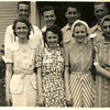 3. I'm not sure where the out-of-towners stayed, but it was probably in some local tourist court. In the back row are Pony Pyron, Charles Kimberlin, Alvin Squires and Ted Pirnack. In front were Mary, Irene, Edith and Awilda.