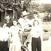 """5. Pony and Mary married in 1935, the Kimberlins in 1936. Sometime around then they took a camping/fishing trip together with other West Plains friends, probably to the Northfork River, west of town. With them were Ted and Awilda Pirnack (married in 1937) and Alvin and Edith Squires (married in 1936).  Keep in mind that most of these folks only finished high school about 1934. Pony was the 'old man', born in 1913, and, had he finished high school, he would have graduated about 1930 or '31.  FROM LEFT, the Pirnacks, The Kimberlins, mom and dad, and the Squires.<br /> <br /> There is another gallery here that has some WWII photos of mom and dad with the Squires in West Plains in 1944:<br /> <br /> <a href=""""https://ronpyron.smugmug.com/History/CAMP-DAVIS-NC-Nov-1943-to-Sept/Second-Furlough-March-4-to-21/i-zNpsPrd"""">https://ronpyron.smugmug.com/History/CAMP-DAVIS-NC-Nov-1943-to-Sept/Second-Furlough-March-4-to-21/i-zNpsPrd</a>"""