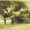 9. That's Bud standing along side the wagon.