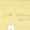 12. The envelope holding Bud and Nell's marriage certificate. Hard to tell if this says William J. or William T. I think it might be J., perhaps for James.