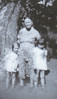 5. John's mother, Susie Hargrove Boone, with two of her grandchildren, Jane, born about 1935, and Doris, born about 1933. Their daddy was Clarence Daniel 'Dude' Boone, an older brother of John's. Susie was married to Finis Boone. She died about 1946. Finis died about 1906.