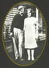 3. John and Effie Boone in a composite picture. Effie may have been standing in front of the house on Crenshaw Street.