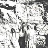14.  I once saw this photo labeled as Patie, Orvil and Retie at rock crusher hill.