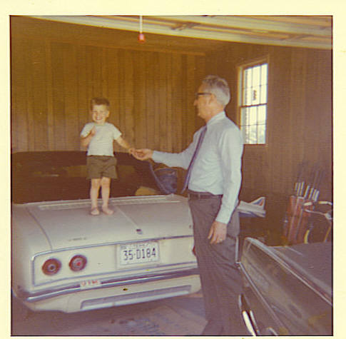 I have lots of pics of mom and dad elsewhere in these smugmug galleries, so I'll only put a few in here for how, just so you can see how he fits in with all the family.  Here he is about 1974 in Martin, TN with his first grandchild, Billy (who is my sister Sylvia's older son.)