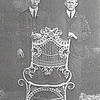 3. Riley at left, and Orvil. After Orvil moved to Texas about 1903, I don't know if he ever returned to McNairy County prior to the death of his brother in August 1915.  Based on that premise, I figure this picture dates to about 1900, when Orvil was about 22 and Riley was about 14 or 15.