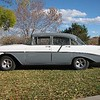 2. Ed and Darlene have refurbished their old 1956 Chevy.
