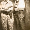 5. William Earl at left, with Ben Mills.
