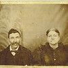7. John Riley Pyron [1847-1932] and Sarah Frances' Frankie' Harris Pyron [1847-1920]. They had five children but only three lived to raise families: Gideon, Sidney and James Clayborne. The other two, William Riley Pyron and Aurelia Aquilla Pyron, died young. William Riley was a twin to Gideon and only lived a week, dying on December 17, 1869. Aurelia died young, at age 19, and is buried in Mars Hill cemetery in McNairy County. We have no picture of Aurelia but we are fortunate to have the beautiful letter that Uncle Billy wrote to Aurelia'a grandparents in Arkansas about her death.