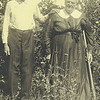 8. Another photo of my great-grandparents, John Riley and Sarah Frankie Harris Pyron.
