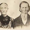 2. All the Pyrons i know of spring from Joshua Pyron, who lived from about 1770 until the 1850s. He had several children, but the only one I've tracked is his son, WILLIAM RILEY PYRON, pictured above, with his wife, MARTHA JANE WRILY PYRON.  They were both born in 1824, he in what is now Marion County, Tennessee (northwest of Chattanooga), and she, in Alabama. They raised their five children in McNairy County, Tennessee in the mid-1800s and moved to northwest Arkansas by the end of the century. They died and are buried near Berryville, Arkansas, she in 1903 and he in 1907. Their great-granddaughter, Iona Edwards Pair, provided this photo.