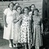 6d. Lula and five of her daughters in 1956.