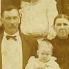 5. William Henry [1846-1909] and Sarah Elizabeth 'Sabet' Swain Pyron [1846-1934].
