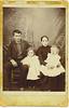 20. A much better original pic of Sidney, Hassie, Augusta and DeWitt. Taken about 1898.