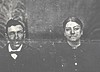 39. My greatgranddad John Riley Pyron and wife Sarah Frankie Harris. She was a daughter of Gideon Lindsey Harris (father of James D. Harris who married Docia Bell Pyron).