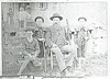 Fate Swain/Swayne with guns and young hunters. This pic was in our 1987 Pyron book. Don't know who has original.