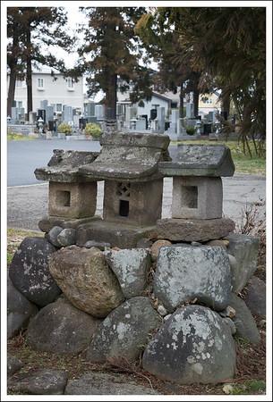 A small little roadside cemetery