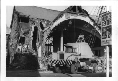 Demolition of the Wesley Methodist Church