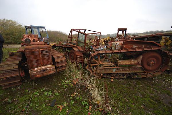 More wreckage