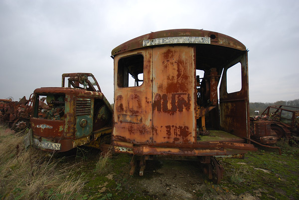 Priestman Cub left,but no idea which Priestman the one on the right is