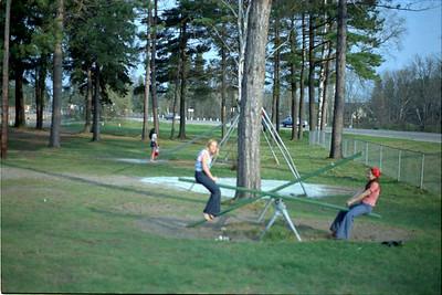 In Nordeen park , Marla Bahrman And Debbie Gay