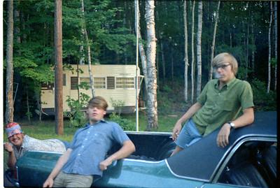 Gary Filizetti, Douglas Chandler, Ronny Paris and my 1970 LS-6 454 El Camino.  Wish I still had that auto.