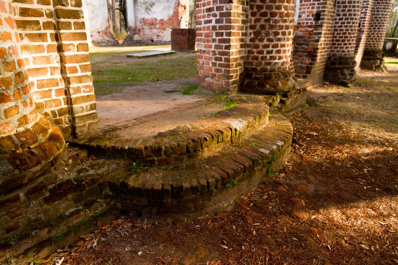 Old Sheldon Church Ruins near Beaufort SC