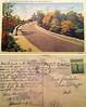 A postcard showing Sky Line Drive and the former Summit Hotel in Reading, Pa. It is dated Feb. 1943. The note is somewhat illegible due to water stains.