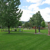 Birnie Park in La Grande.  This park is a camping area used by the emigrants on the Oregon Trail.
