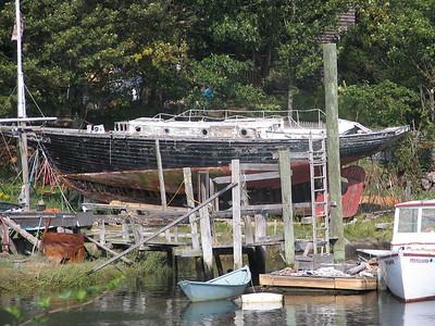Essex, Rte 133, Essex Maritime Museum site.