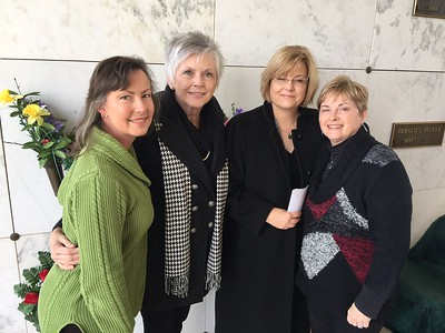 AUNT LOUISE HAYS' FUNERAL  January 2017