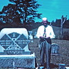 "15.   1960s, Wilmer Rader with His Parents' Headstone<br /> Timberidge Presbyterian Church Cemetery, Greene County, TN<br /> <br /> ""This picture is from a slide that I found in 2012. It had been in a box for years, and I just happened to come across it!""Submitted to ancestry.com by June Coker McNew.<br /> <br /> His will:  <br /> <br /> WILL OF DANIEL RADER, DECEASED.<br />   <br /> I, Daniel Rader of the County of Greene and State of Tennessee, being of sound mind and memory, do make, publish and declare this to be my Last Will and Testament, to wit:<br />   <br /> FIRST.  All my just debts and funeral expenses shall be all fully paid.<br />  <br /> SECOND.  I direct that my beloved wife, Susan Rader, (if she should be living at the time of my death) shall have a dowery or a one third interest in my real estate (or farm).  Allso one horse and one milch cow, and one years support, to have and to hold during her life, at her death, it shall be distributed (or divided) under the following condisions, to wit:<br />  <br /> I value my farm upon which I now reside and containing one hundred and thirty acres more or less (130) at Fifty-four Hundred Dollars, $5400.00.  And I include in this valuation the following farming implements, to wit:  one wheat binder namely Plano, one McCormick mowing machine, one hay rake, one Superior wheat drill, one Umpire corn drill, one disc harrow, one riding cultivator, one drag harrow and two turning plows, allso my carpender and blacksmith tools.<br />  <br /> I direct that my two sons, James Willmer Rader [and] Harland Edgar Rader shall have this farm and farming implements equally divided between them, and subject to the following condisions, to wit:  That they shall pay to each one of my daughters, namely Liza Jane Poe, Allie Pearl Bible, Nannie Hester Cutshall and Lula Maud Rader the sum of Nine Hundred Dollars ($900.00), this being their equal part of the above named property, and to be paid as follows, Six Hundred dollars $600 to each one, in one and two years payments, without interest for one year after my death, the remainder three hundred dollars a piece, $300.00 to be paid after the death of my beloved wife Susan Rader, and if she (my wife) should die first then the nine hundred dollars shall be due to the girls, and there shall be no interest untill after two years.  Or in other words the time allowed an executor to wind up an estate.<br />  <br /> I further direct that all my personable property not mensioned in this will shall be sold, and all accounts and notes be collected and the proceeds be equally divided among the six children above named, and that all be made equal in this distribution as set forth above.<br />  <br /> I further direct that Willmer, after the death of father and mother, shall have the home residence, and that if him and Edgar should divide the farm, that Willmer shall help Edgar build him a residence, furnishing one half of price of material and labor.<br />  <br /> I further direct that Willmer be made my executor and that he shall not be required to give bond neither have eny compensation unless some one of the heirs dissect from this will and cause him unessary trouble.<br />  <br /> I further direct that if eny accounts or notes exist against eny one of heirs that amount shall be taken out of their part.<br />  <br /> In witness whereof I have hereunto set my hand and seal.  This May 4th, 1914.<br />  <br />                                                                                                 Daniel Rader   (Seal)<br />    <br /> This instrument signed and acknowledged in the presence of the following witnesses.<br />  <br />             Robert Davis.<br />             W. R. Davis."
