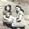 17. Nigel at right with her sister Beulah.