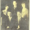 William Edward's children, older. Left rear, JoJo, Clarence, and Mary; in front, James and John. Taken before 1920.