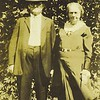So far we have no photographs of Levi's other two sons, so the rest of this gallery will be those of Samuel's line. This is Samuel and his 2nd wife Fannie E. Lister Cutshall (1872-1957) His first wife was Nannie Hester Rader (1877-1916). She died when the children were still young. It was Fannie who helped raising the boys - Fain, Levi, Wilmer and Willis.