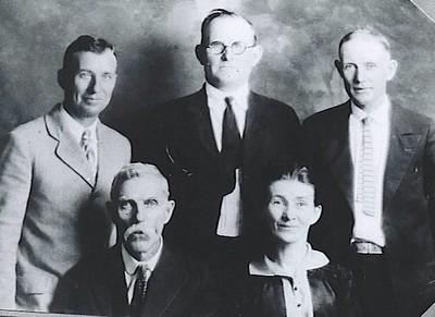 LEVI CUTSHALL FAMILY