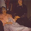 12. Sisters Jannis and Phyllis with their grandmother. Margaret died on Dec 4, 1978.