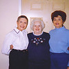 13. Jannis, left, and her sister Ruby Jean, right, with their mom's sister Goldie Davis Ervin.
