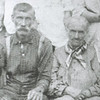 16. John Brooks was born about 1811 in North Carolina.  He married Elizabeth 'Betty' Hill about 1839. In the 1900 census, when they were listed in Castlewood, Russell Co, VA.; he was 88 and she was 78. In 1910 she was widowed and living with Charles and his family, age 88.  Hence, John died sometime before the 1910 census. If this was taken in 1908, he would have been about ninety-seven here, and Betty would have been about eighty-seven.