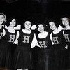 14. HHS cheerleaders about 1965. From left, Cathey Mitchell, Brenda Lewis, Kitty Ann Northcott, Jackie Bailey, Linda Morse and Jeanne Jones.