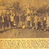 17. Girl Scouts behind Main Street school.