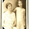 9. Our high school history teacher, Miss Lucille Robinson, as a young girl, with her mother.